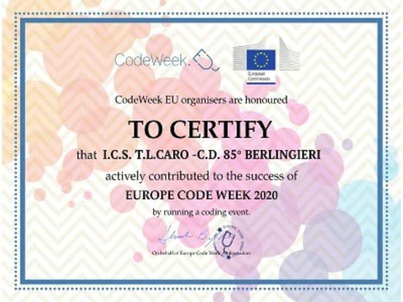 Europe Code Week 2020